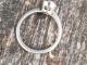 14k White Gold Salt and Pepper Diamond Ring, Alternative Engagement Ring, Natur