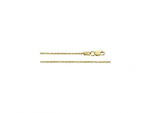 14k Yellow Gold Wheat Chain 1.28mm, Simple Gold Chain, Chain for pendant, Necklace for pendant